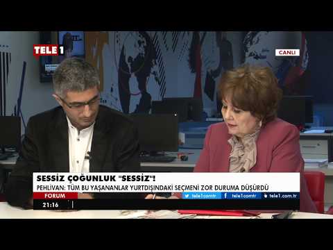 Forum - Ayşenur Arslan (12 Nisan 2017) | Tele1 TV