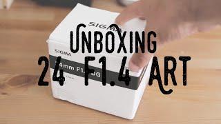 Hablando de objetivos - Unboxing Sigma 24mm f1.4 Art HSM DG | VideoVlog
