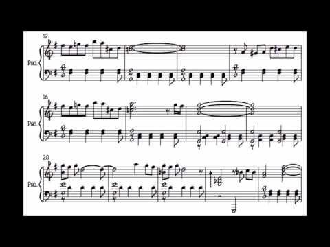Balamb Garden - FFVIII (Scroll Sheet Music)