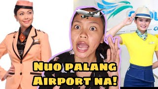 I TRIED COPYING FLIGHT ATTENDANT'S MAKEUP! Nuo palang Airport na !!!