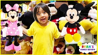 Toy Hunt at Disney Store and Family Fun Board Game for Kids