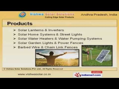 Solar Products by Vishwa Solar Solutions Pvt Ltd, Hyderabad