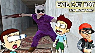 Evil Cat Boy : Scary Escape - Android Game | Shiva and Kanzo Gameplay