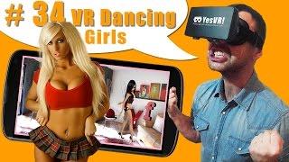 #34 Танцы девочек в виртуальной реальности. Обзор VR приложения, НЕ порно НЕ секс xxx видео 360!