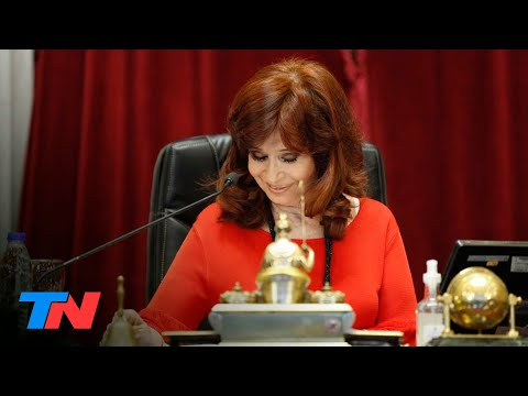 "Cristina Kirchner trató de ""barrabravas"" y ""maleducados"" a senadores opositores"
