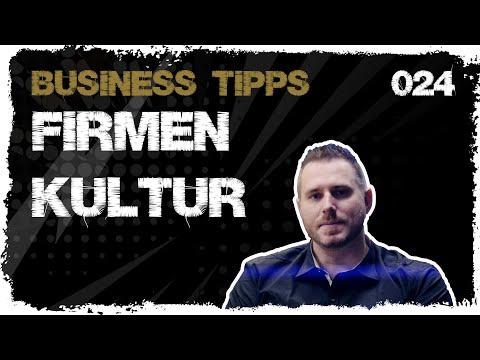 business tipps #024: Firmenkultur - Was ist das?