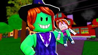 ROBLOX-FUJAM of the WITCH CRIS MINEGIRL (Haunted Hunters)