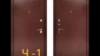 видео Наружные металлические утепленные двери