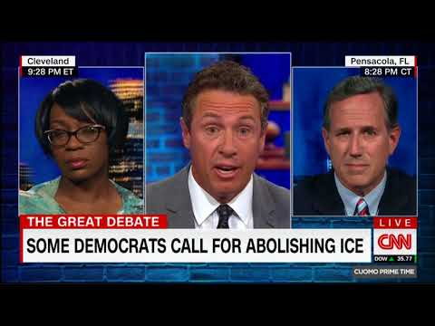 Nina Turner Comes Unglued As Rick Santorum Blames Democrats for Obstructing New Immigration Policy