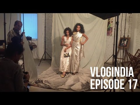 VLOGINDIA 17 - Elle India shoot AND seeing my Aerie billboard in Times Sq! (Shivani Persad)