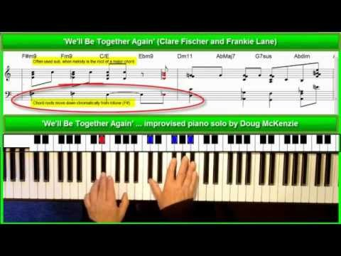 'We'll Be Together Again' - Jazz piano tutorial