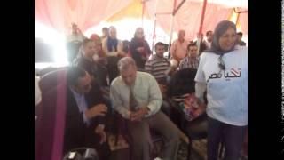 محافظ الاسماعيلية وريس جهاز التنظيم والادارة ورئيس جامعة القاهرة فى القناة الجديدة