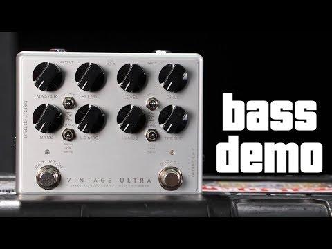 Darkglass Vintage Ultra Bass Demo