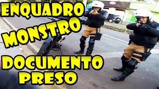 PORTA DA ESCOLA DEU ENQUADRO & PRENDERAM O DOCUMENTO DA XJ6