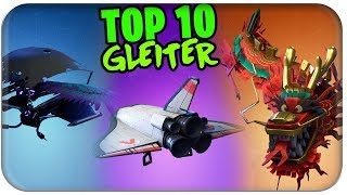 THE BEST GUIDES ARE YOUR MONEY VALUE 🏅 TOP 10 GLEITER SKINS | Fortnite Ranking German German
