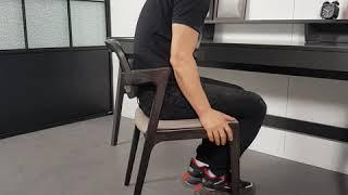 [코쿤가구] 100% 우드시리즈 북유럽 에쉬원목 의자