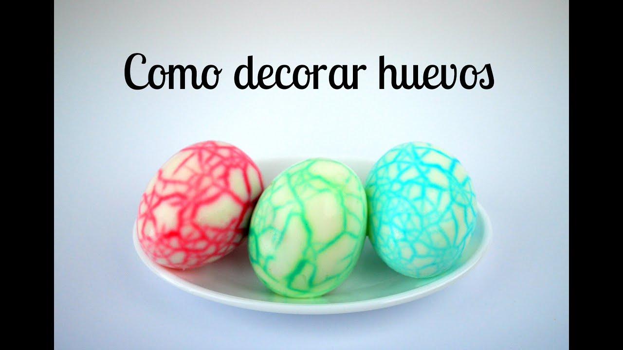 Cómo decorar huevos para Pascua, Halloween o fiestas infantiles ...