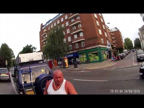 Road rage incident Putney, London (front view) - R898DKN