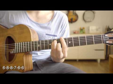 les passants - gypsy style - chord lesson with tab