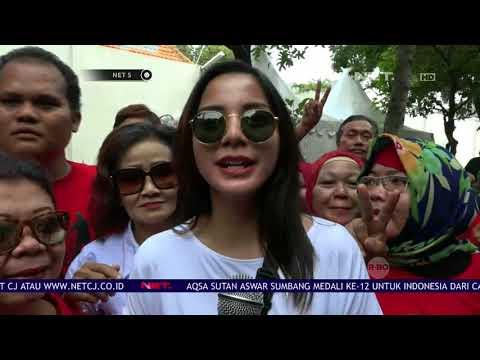 Ratusan Millenial Relawan Jokowi Ma'ruf Amin Unjuk Aksi Kreatif - NET 5 Mp3