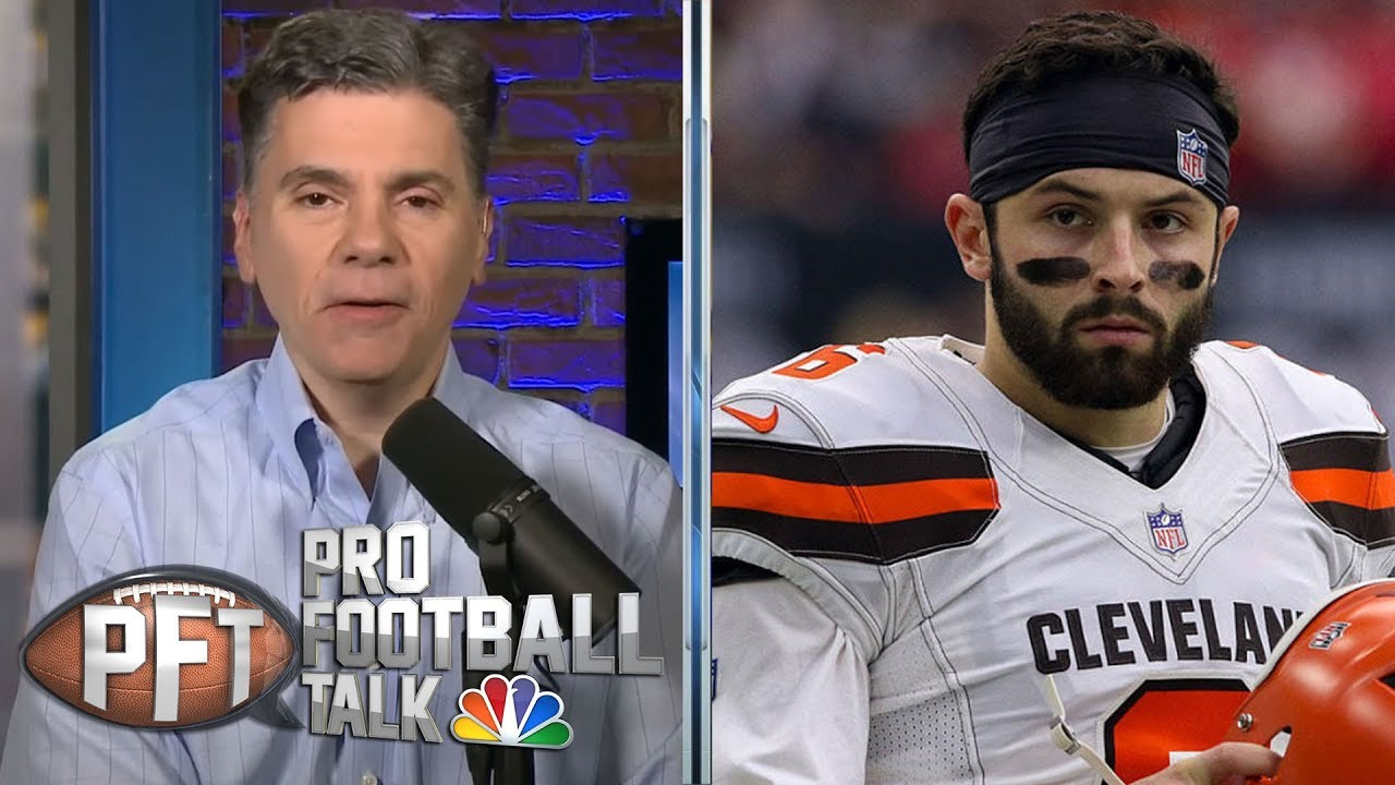 PFT Overtime: Baker Mayfield seeks revenge, Le'Veon Bell's workload | Pro Football Talk | NBC Sports