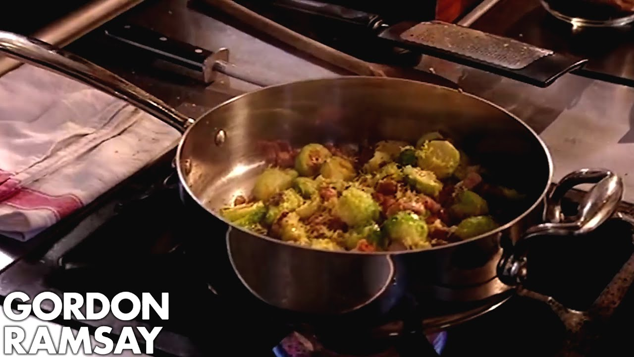 Brussels Sprouts with Pancetta and