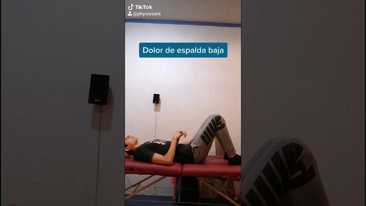 Tratamiento para dolor de espalda baja - YouTube