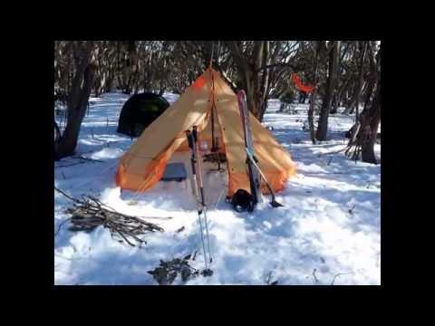 My miniature wood burning tent stove