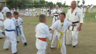 Летний учебно-тренировочный сбор - 2018 Днепропетровской областной Федерации Киокушин карате