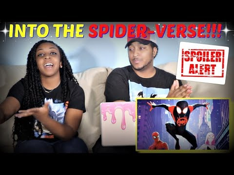 """""""Spider-Man: Into The Spider-Verse"""" Movie Review!! WARNING! SPOILERS INCLUDED!!"""