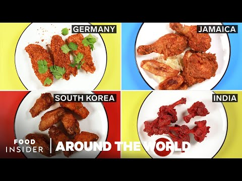 Fried Chicken Around The World | Around The World