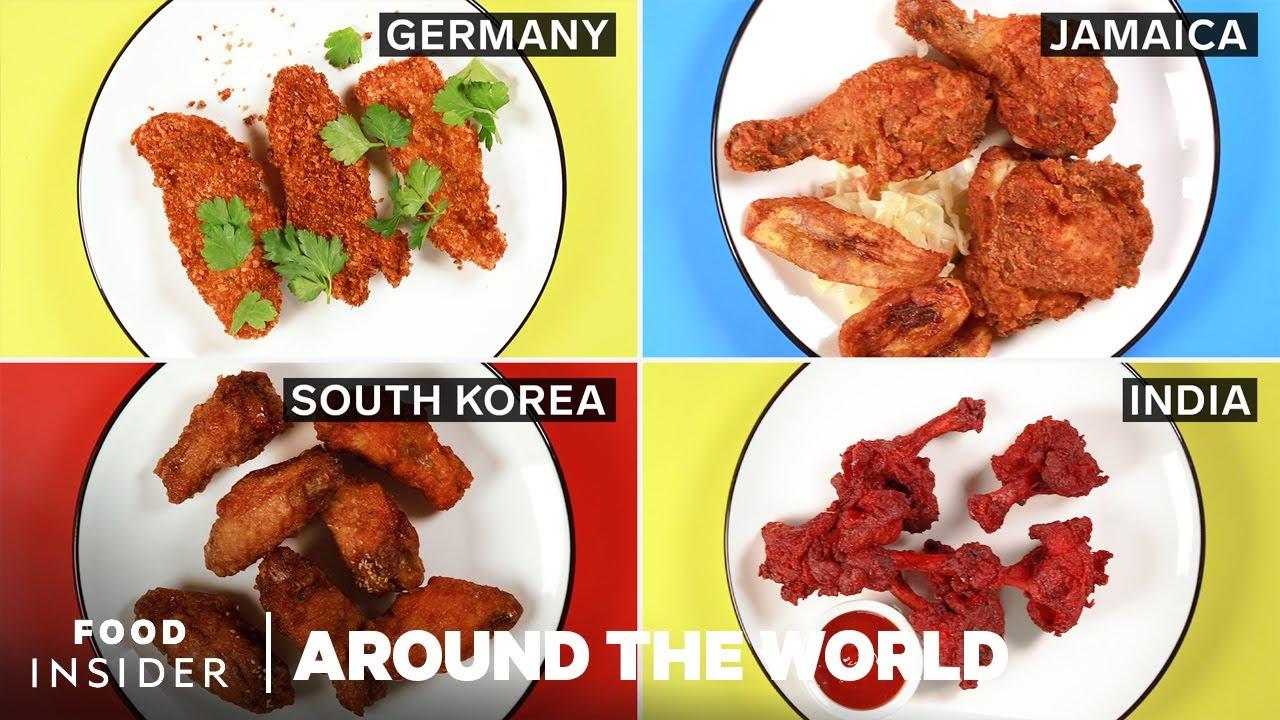 8 Popular Fried Chicken Dishes Around The World   Around The World