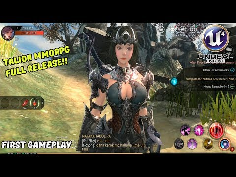 Talion MMORPG Unreal Engine 4 Full Release English Android