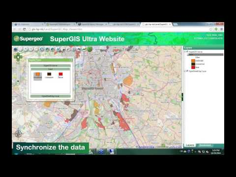 SuperGIS Webinar - Make Enterprise GIS Data and Service Available Anytime Anywhere