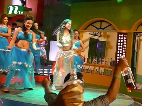 Shooting of a Dhallywood item song