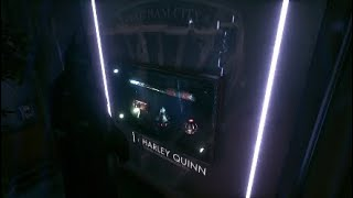 Touring GCPD Evidence Room Arkham Knight Ps4