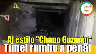 Hallan túnel con dirección a penal de Reynosa, Tamaulipas