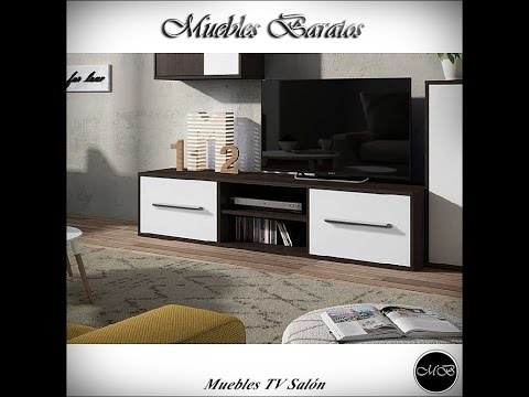 Muebles tv sal n muebles para televisi n youtube for Muebles de salon para tv baratos