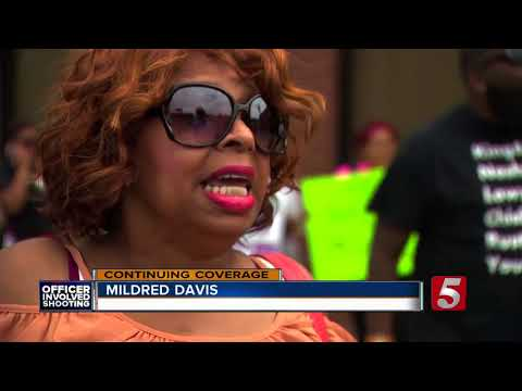 Protesters Demand Officer Delke Be Fired; File Complaints In Hambrick Shooting