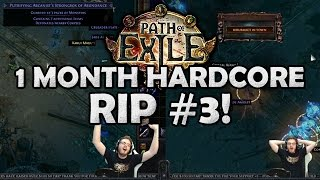 Path of Exile Hardcore Death: GREED vs. READ - [1 Month Torment/Bloodlines HC Race RIP]
