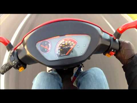 50cc Chinese Scooter @ 85kph