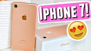 ?iPHONE 7 UNBOXING, REVIEW, FIRST IMPRESSIONS + WHAT'S ON MY IPHONE 7!?