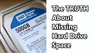 TechAtAGlance - The TRUTH About Missing Hard Drive Space