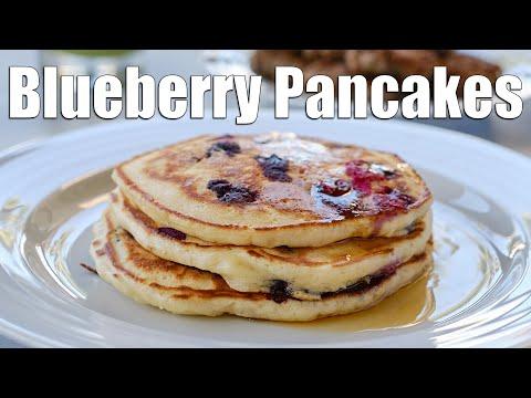 Blueberry Pancakes | Easy Breakfast Recipe