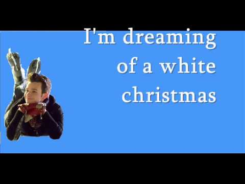 White Christmas / Glee Version with Lyrics