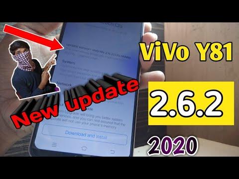 Vivo Y81 Rev 2.6.2 Update 2020   Vivo Y81 Latest System Update   Vivo Y81 New Fun Touch Os Update