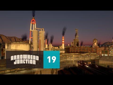 Cities Skylines: Arrowhead Junction - Part 19 - Arrowhead Industrial Park