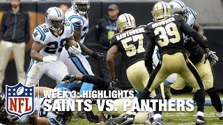 Saints vs. Panthers | Week 3 Highlights | NFL