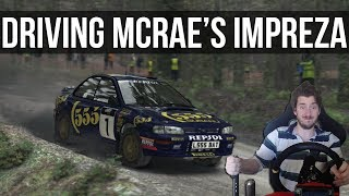 What's It Like Driving Colin McRae's Championship Winning Impreza?