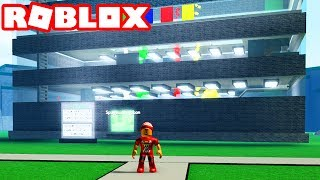 HOME of the LARGEST BUILDING → Roblox of ROBLOX (skyscraper)!! -Skyscraper Factory Tycoon 🎮